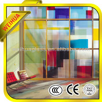 Tempered glass tinted glass panels from China factory