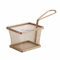 Food Grade mini Frying basket/cooking basket /kitchen frying basket wire mesh