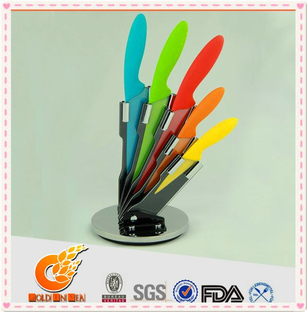 Fine workmanship kitchen knife sets with suitcase(KN10057)