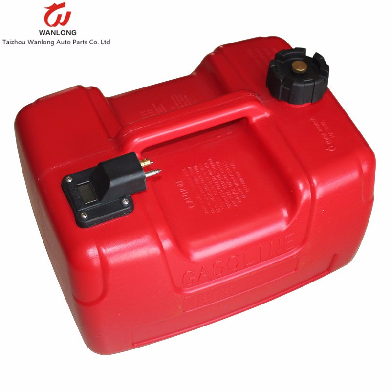 12l boat motor marine outboard motor plastic fuel tank for Gas tanks for outboard motors