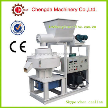 Chengda 1.5T/H vertical ring die wood pellet machinery