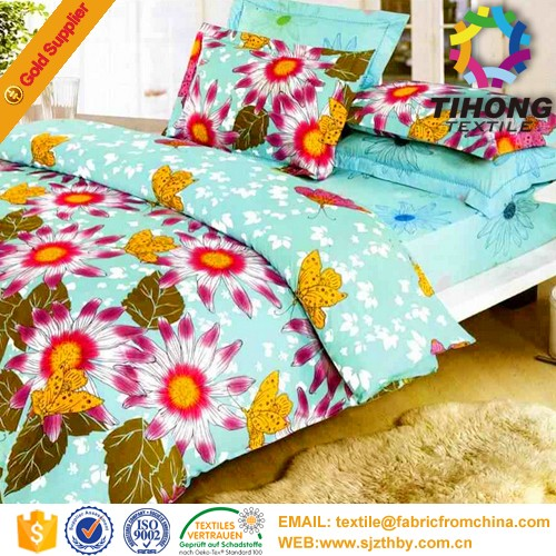 wholesale 100% polyester printed china textile fabric <strong>material</strong> supplier