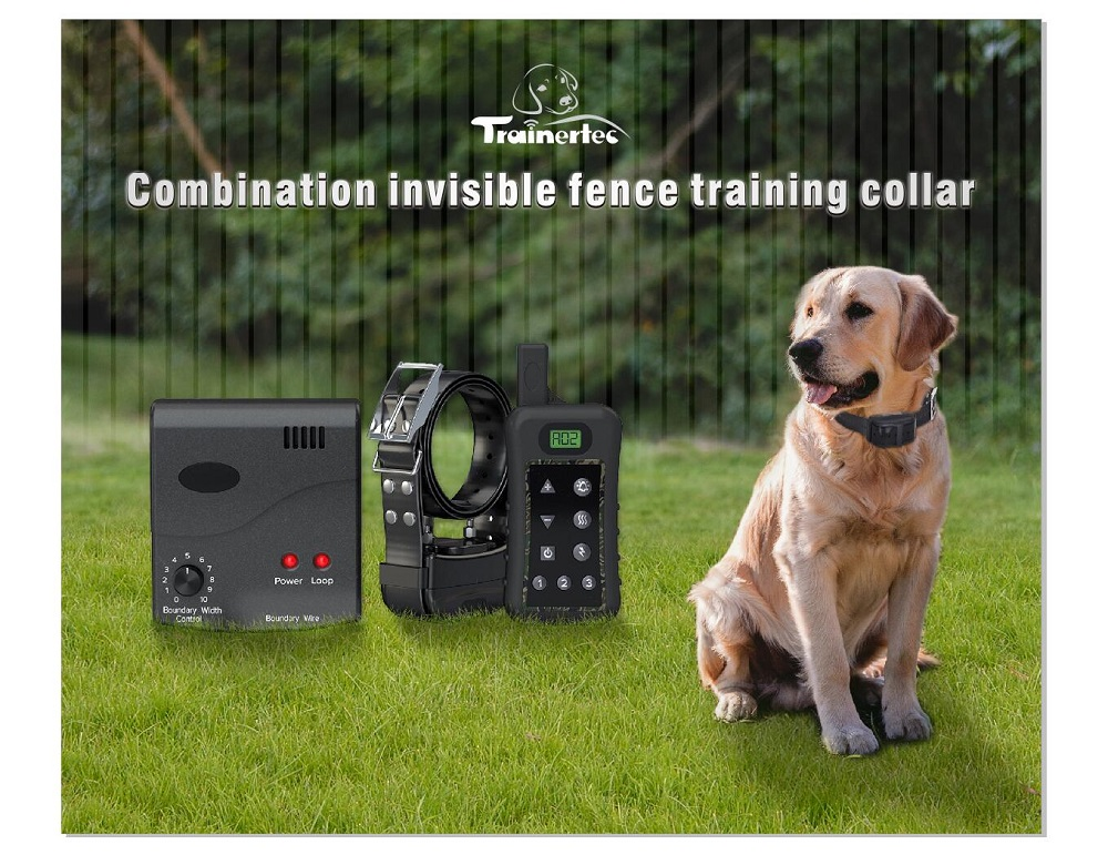 2 different mode functions electric wireless dog containment