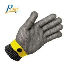 high quality working safety Multiple freight mode serviceable mesh stainless steel glove worker
