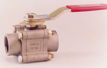 3 Piece Soft Seated Ball Valve