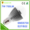 2016 new arrival e27 led light bulb parts , aluminum high brightness led light bulb