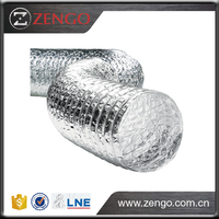 ALU Aluminium non-insulated flexible duct