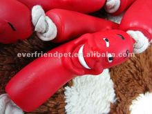 Wholesale Vinyl Pet Toys,Yummy Squeaky Sausage For Dogs
