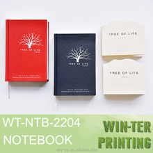 WT-NTB-2204 Gold printing edge thick diaries book