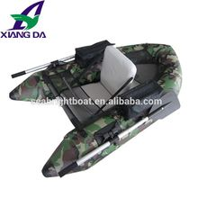 CE Certification Inflatable belly boat fishing flost folding boat