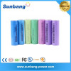 rechargeable 2600mah cr18650 li-ion rechargeable battery for power bank/light equipment