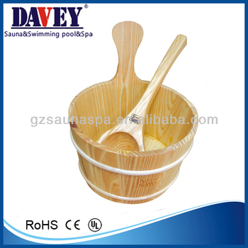 2013 sauna equipment wooden spoon drum
