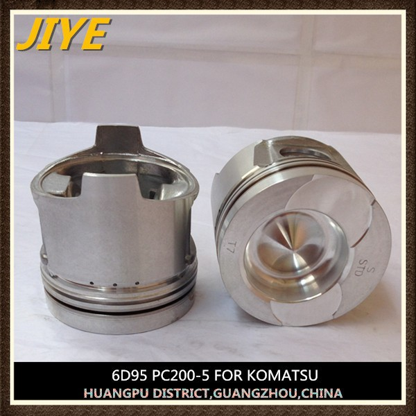komat su pc100-3 excavator 6D95L piston 6204-31-2121