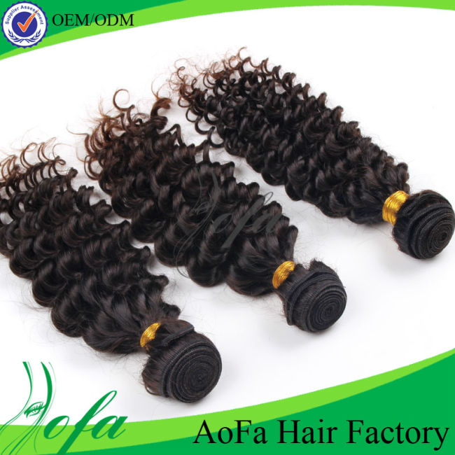 smooth touch hot sell real virgin human hair, unprocessed deep wave human hair extensions