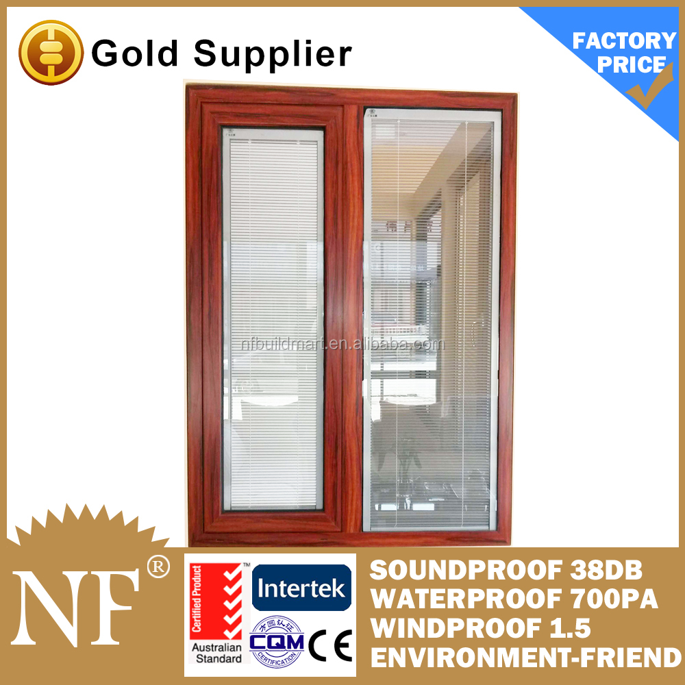 aluminium frame fixed glass panel