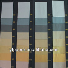 100% wooden pulp metallic paper for wrapping