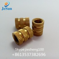 Supplier direct sales injection mold brass nut 29 long +86 135 37