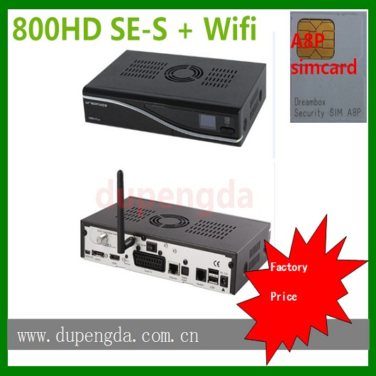 dm800hd se original sim a8p wifi dm800se