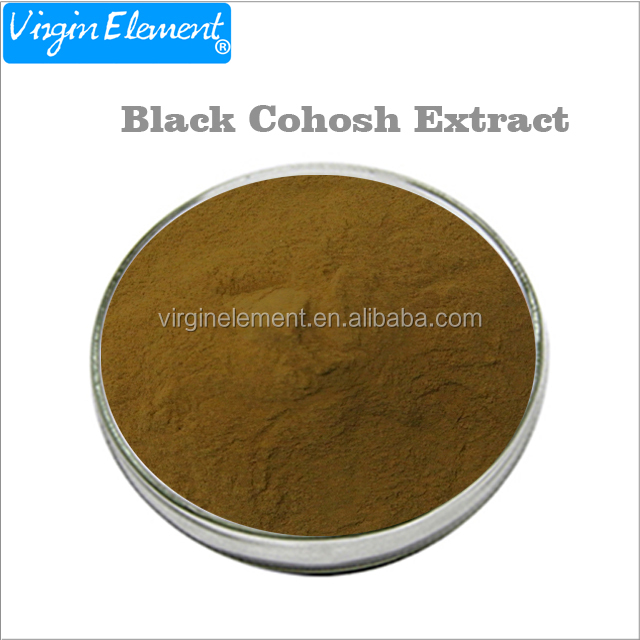 Black cohosh extract powder triterpenoid saponins Triterpenes 8%