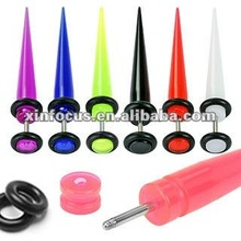 Acrylic cheater taper fake ear plug