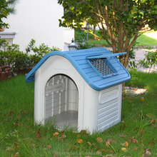Plastic Outdoor Water Proof Dog Kennel Roof Frame Building