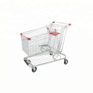 180L Supermarket Shopping Trolley American Shopping Cart