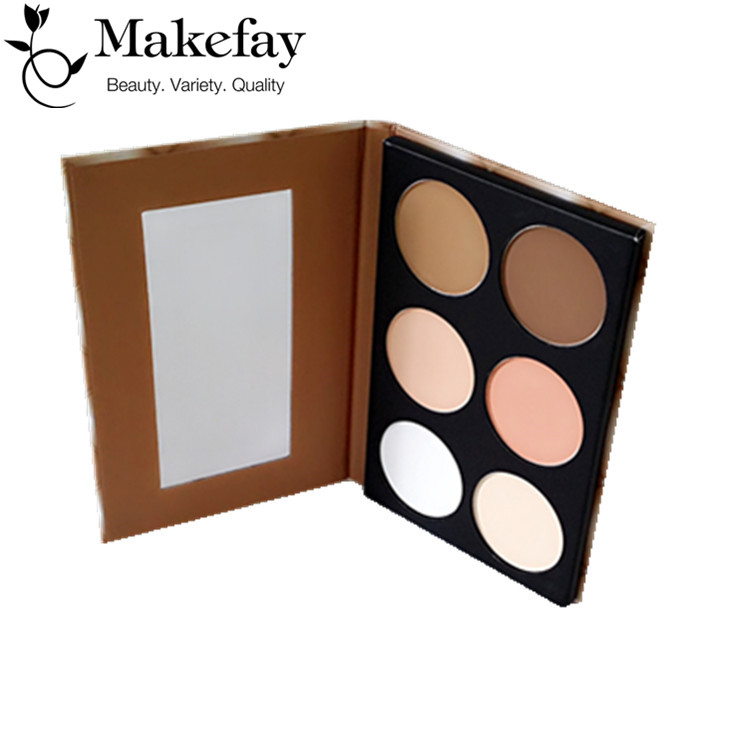 Private label cosmetic <strong>face</strong> base Pressed foundation makeup powder