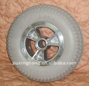 pu wheel,kick scooter 125mm pu wheels,