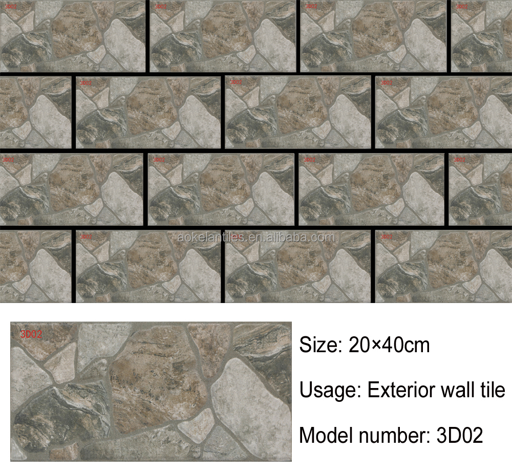 20x40cm Exterior Ceramic Wall Tile Buy Wall Tiles