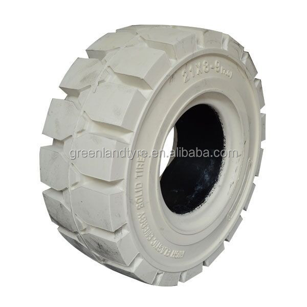 Non marking solid tires 6.50-10 OEM accepted