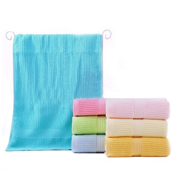 Chinese manufacturer free sample pakistan cotton terry plain color dobby towel