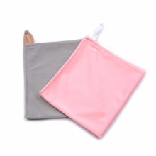 High end traceless microfiber dish wiping cloth with beautiful price