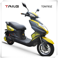 China's cheap hot sell sports strong steel frame 800W 60V motorbike for sale TDM783Z