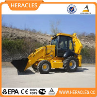 Chinese earth-moving machinery wheel backhoe loader mini