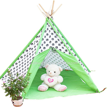 TP34 Zhejiang Tulip 100% Cotton Canvas Indian Teepee Kids Teepee Play Tent