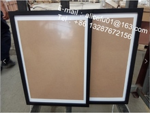 Custom Wholesale Genuine Deep Effect MDF Picture Wood Photo Frame 4x6 5x7 6x8 8x10 16x12 20x16 36x24 A1 A2 A3 A4