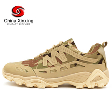 Supply 50000 Camouflage Breathable running walking Outdoor camping sport hiking soft men shoes military tactical hiking shoes