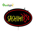 Diy Letter SASHIMI LED Neon Open sign for Fishing Rod Shop