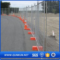 Hot Sale Galvanized Steel Oval Bars/Rails Australia Used Temporary Fence Cattle Panels For Cattle Yard