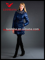 2014 Latest Real Fur High Quality Winter Shiny Fashion wholesaler american college jacket