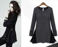 Autumn woman wear wholesale clothing long sleeve lady dress women wedding dress(M10103A)