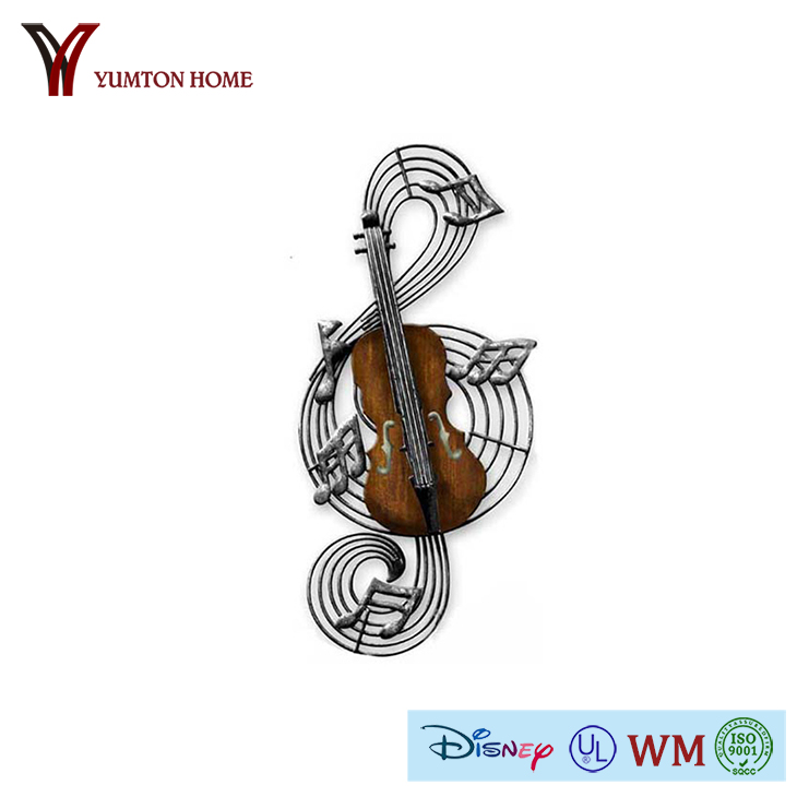 Metal music ornaments wholesale