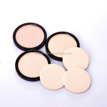 Name brand foundation makeup pressed powder with puff