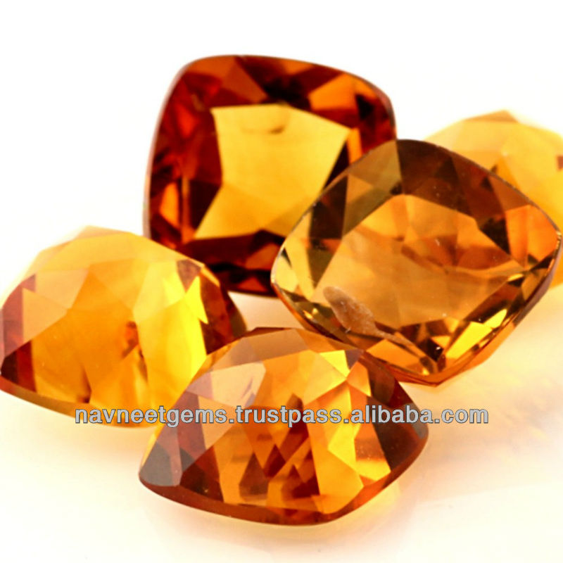 Loose Natural Gemstone Citrine supplier in Bangkok