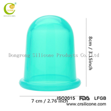 Face Care Treatment Home Use Health Care 1Pc Eye Mini Silicone Massage Cup Facial Cupping Cup