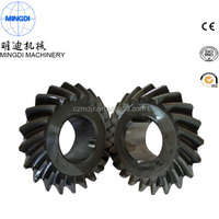 Stainless steel, equal diameter conical gear,Gear grinding Zero degree Bevel gear
