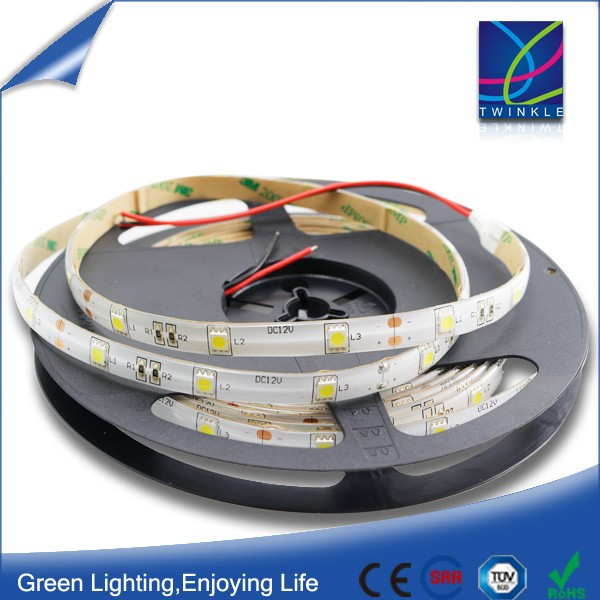 epoxy gel/silicone tube 5050 smd 60 led/m ip 65 led strip