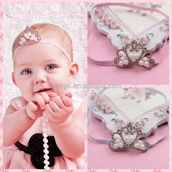 Handmade factory directly baby indian wedding hair accessories