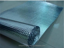 High Reflective Silver Foil Bubble Insulation / Double Sided Aluminum Bubble Foil Roof Insulation / Air Bubble Heat