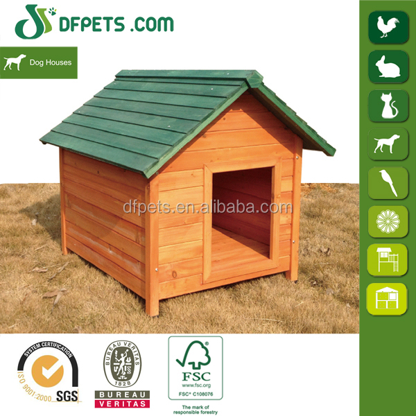 DFPets DFD3009 FSC Certificate Wooden Dog Kennel